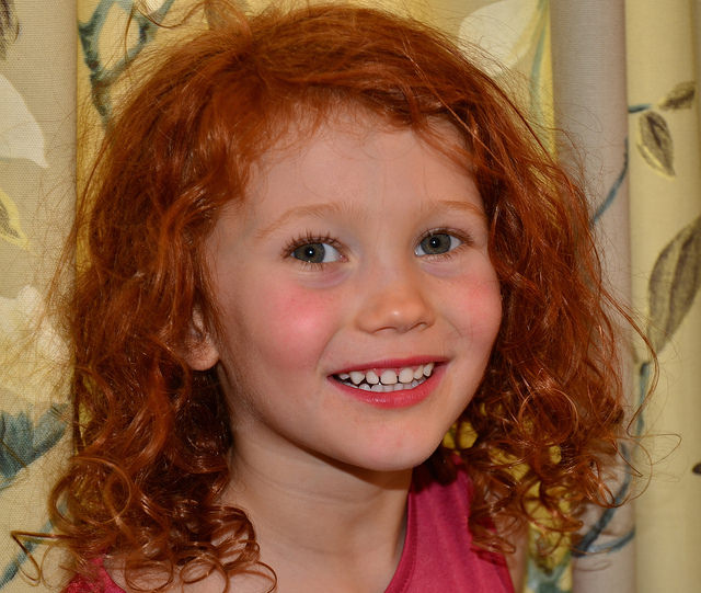 young actress red head