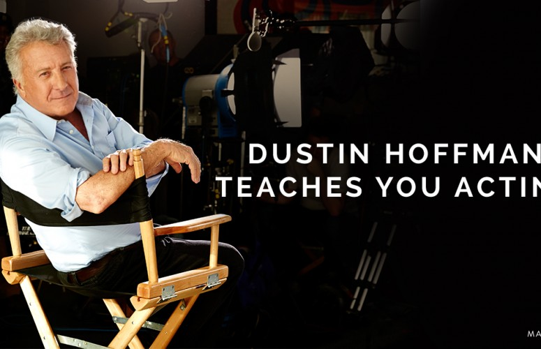 dustin hoffman teaches kids acting