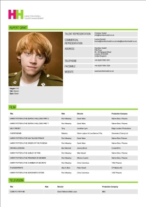 acting resume sample daxnet me