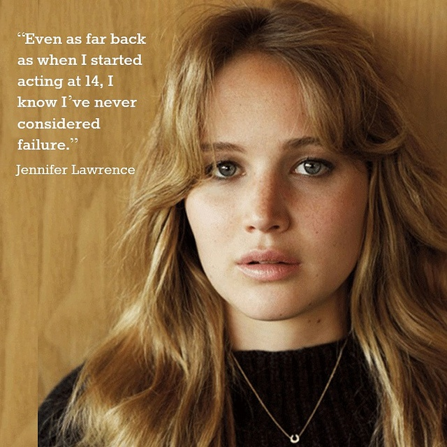 jennifer lawrence inspirational quote