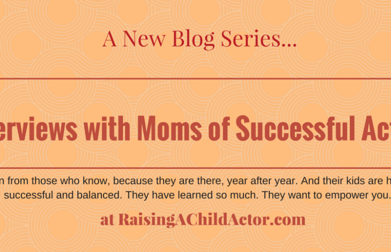 The Series of Interviews with Moms of Actors